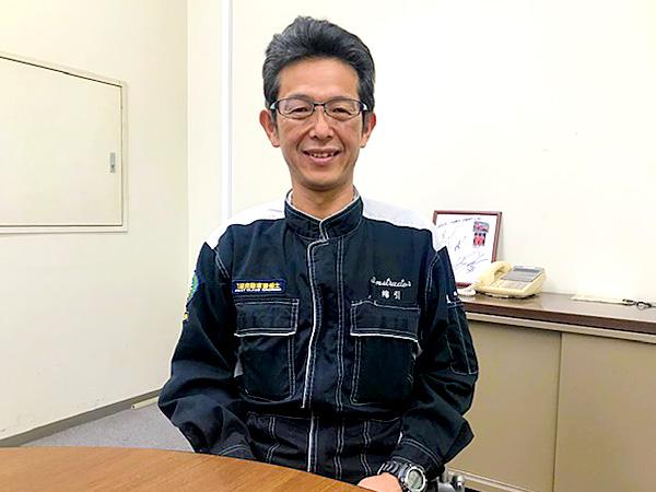 トヨタ東京自動車大学校<br>教育部 ボデークラフト科 副課長<br>綿引 裕規様